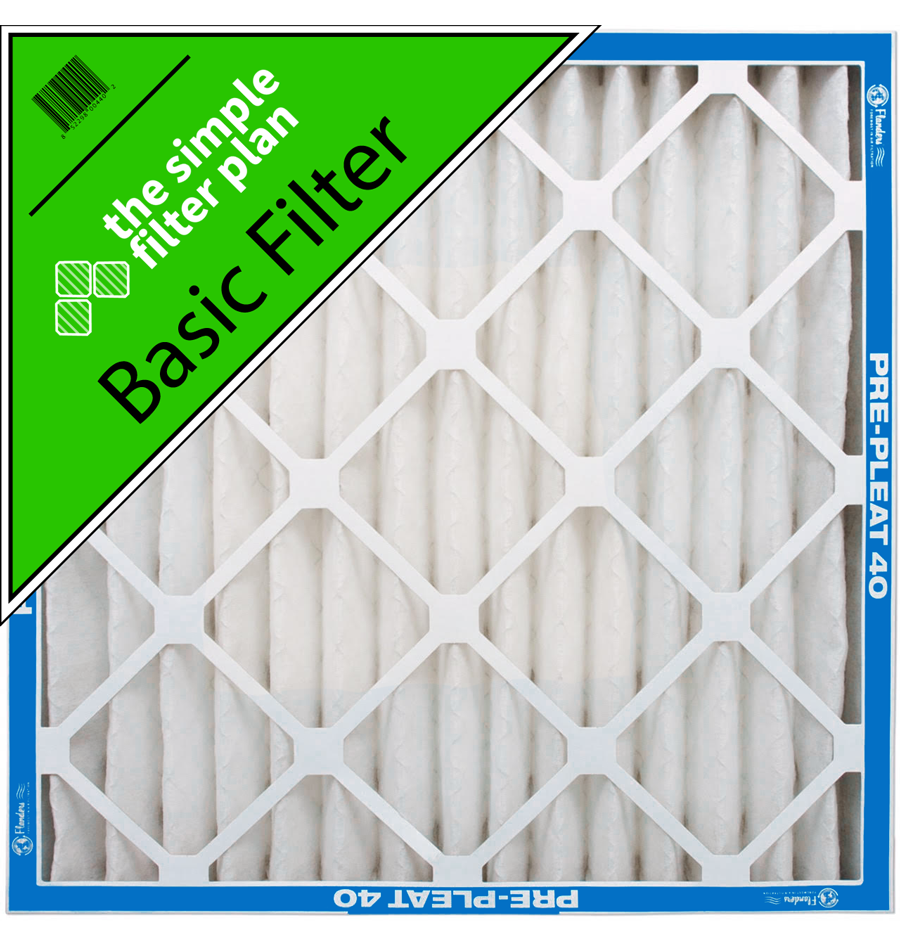 Basic Home Air Filter 1 Month Renewal The Simple Filter Plan